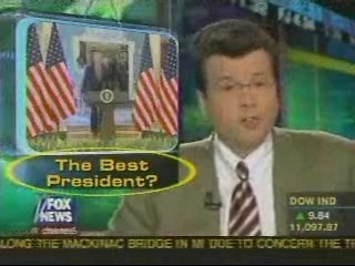 Fox 'asks' if Bush is the best president ever